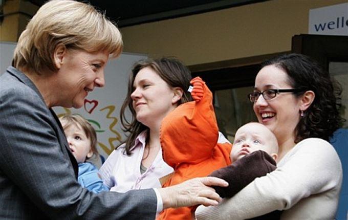 Podpora rodiny na německý způsob: konflikt sociálních inženýrů