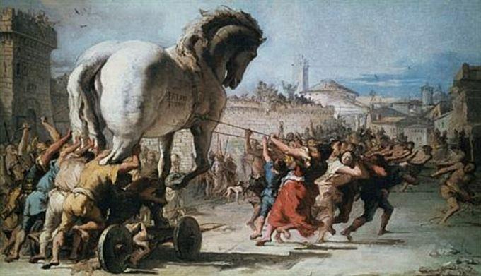 Co mají společného všichni trojští koně