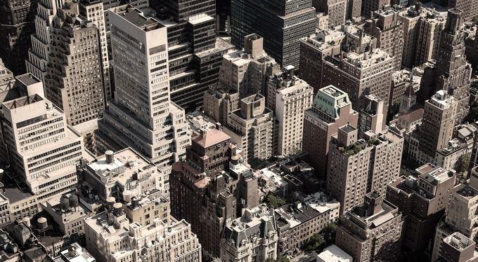 New York za neviditelným plotem