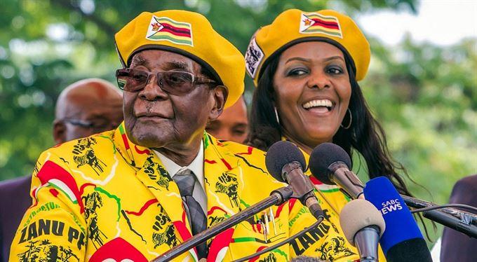 Mugabe. Manuál afrického bankrotáře