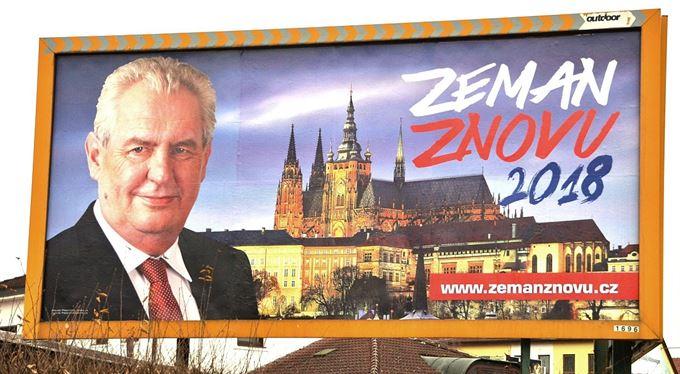 Koho proti Zemanovi. Hledisko zahraničněpolitické