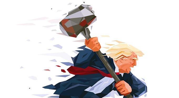 Nařvaný Trump a skvělá Amerika