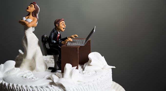 Hodně štěstí novomanželům přeje finančák